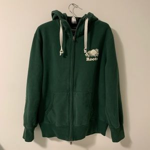 Roots Forest Green Hoodie
